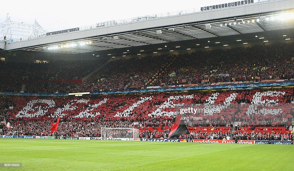 Manchester United v Barcelona : News Photo