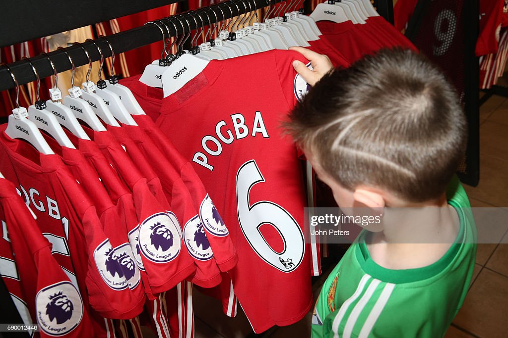 General Views of Manchester United's Megastore : News Photo