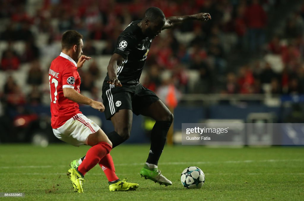 SL Benfica v Manchester United - UEFA Champions League