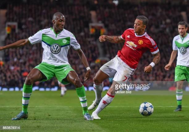 FUSSBALL Manchester United FC VfL Wolfsburg Josuha Guilavogui gegen Memphis Depay