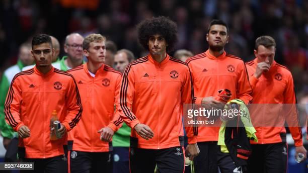 FUSSBALL Manchester United FC VfL Wolfsburg Marouane Fellaini