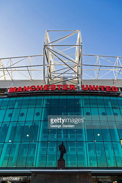 manchester united football club - manchester united old trafford stock photos and pictures
