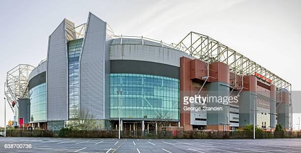 manchester united football club - manchester stadium fotografías e imágenes de stock