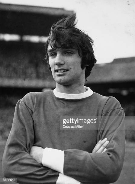 Manchester United Football Club player George Best, 17th March 1966.