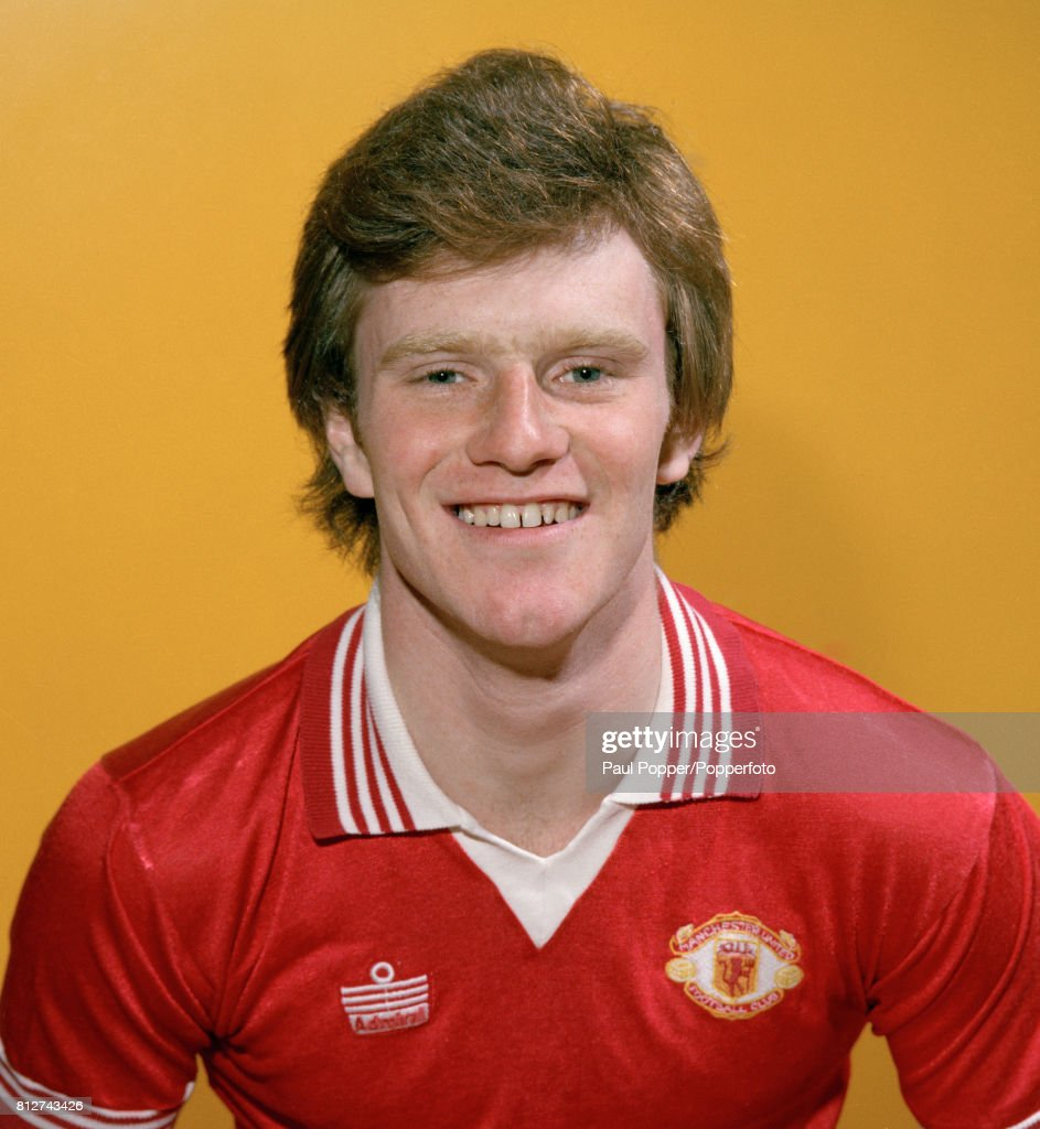 Andy Ritchie - Manchester United : News Photo