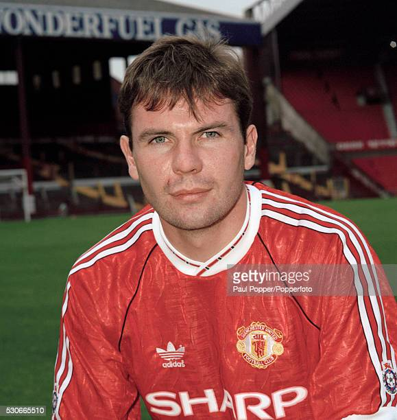 Manchester United footballer Brian McClair at Old Trafford in Manchester circa August 1991
