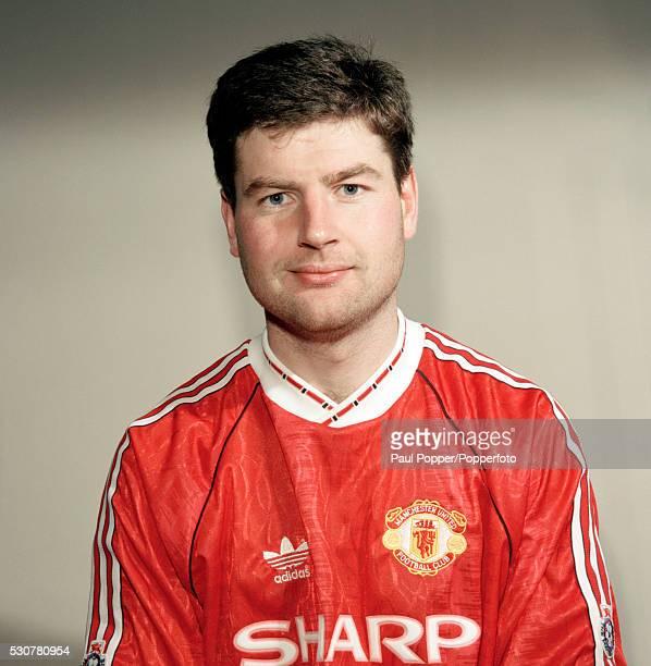 Manchester United footballer Denis Irwin circa 1991