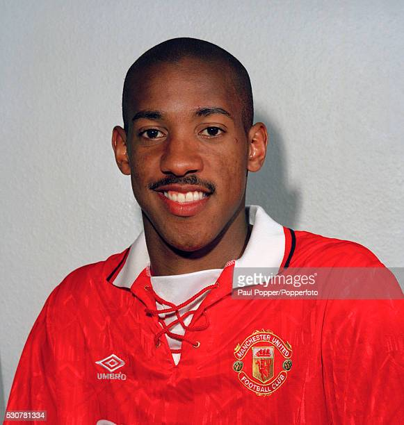 Manchester United footballer Dion Dublin circa 1993