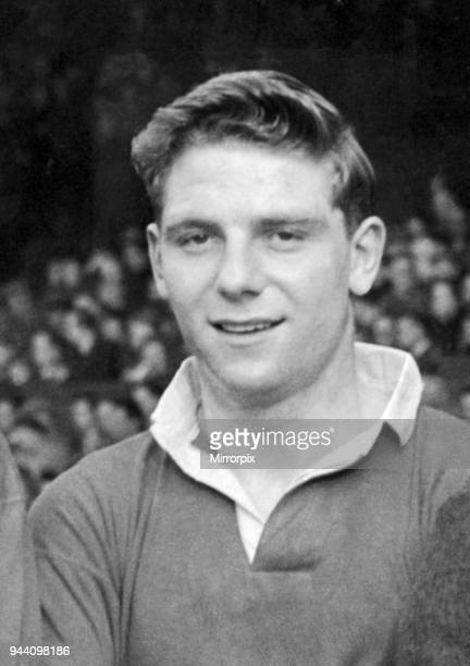 Manchester United footballer Duncan Edwards pictured before his side's 4-2 defeat to Wolverhampton Wanderers in the English League Division One match...