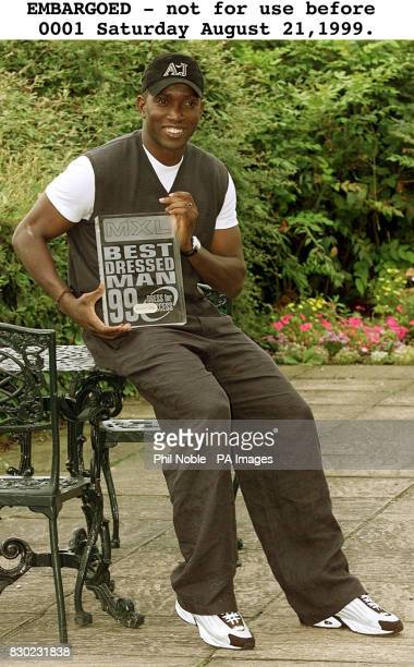 Manchester United footballer Dwight Yorke who has been named as this year's winner of the MXL Best Dressed Man Award The United striker's style put...