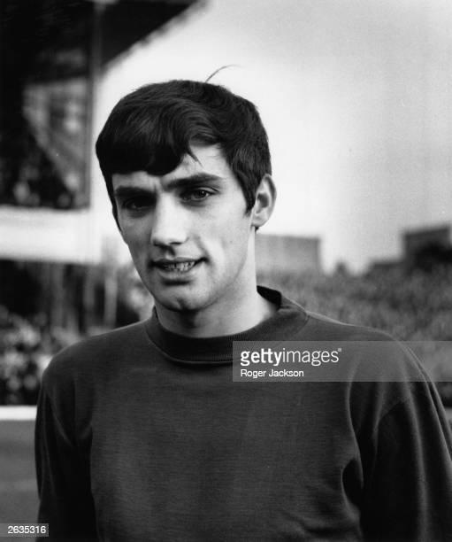 Manchester United footballer George Best, December 1964.