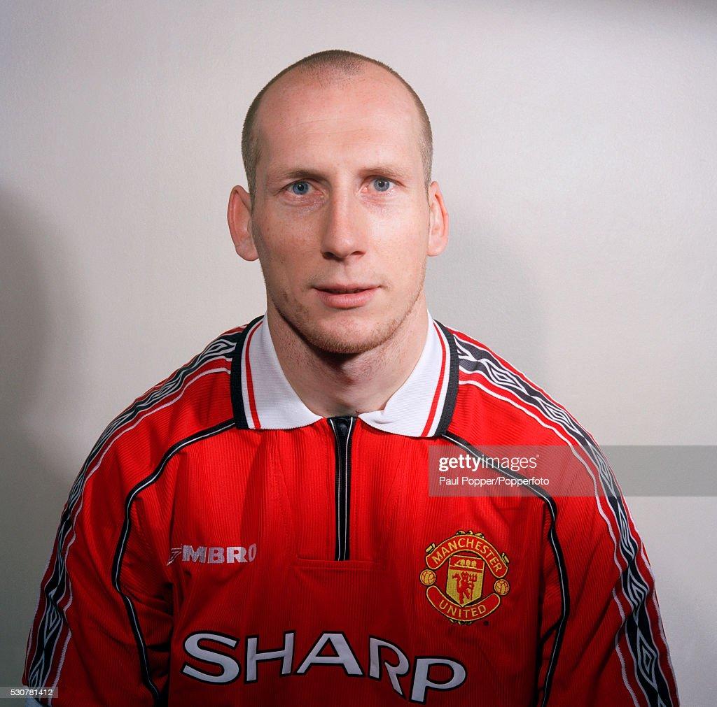 Jaap Stam  -  Manchester United : ニュース写真