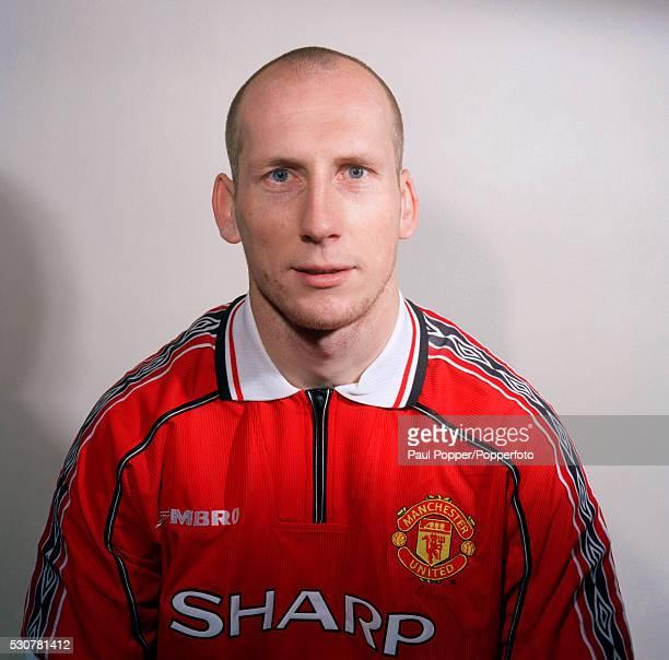 Manchester United footballer Jaap Stam circa August 1998