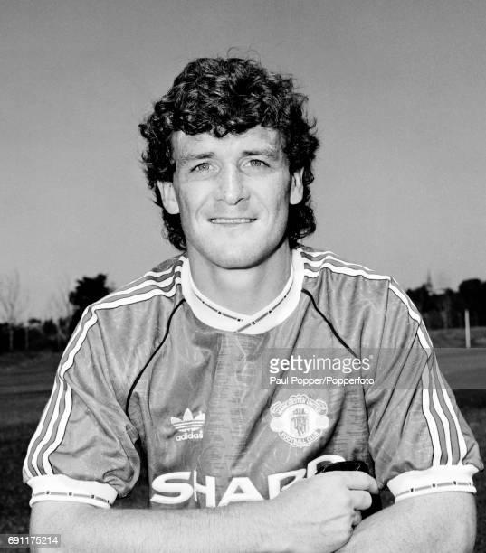 Manchester United footballer Mark Hughes circa August 1991