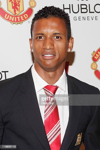 Manchester United footballer Nani attends the Hublot Art Of Fusion Fashion Show at Cipriani Wall Street on July 25 2011 in New York City