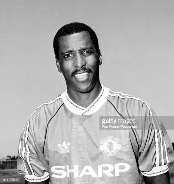 Manchester United footballer Viv Anderson circa August 1991