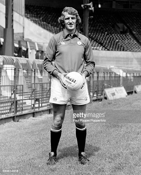 Manchester United goalkeeper Alex Stepney at Old Trafford in Manchester circa 1975