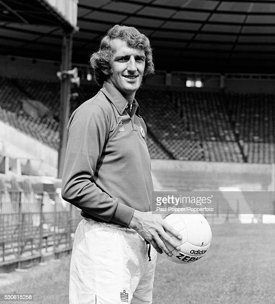 Manchester United goalkeeper Alex Stepney at Old Trafford in Manchester circa 1975