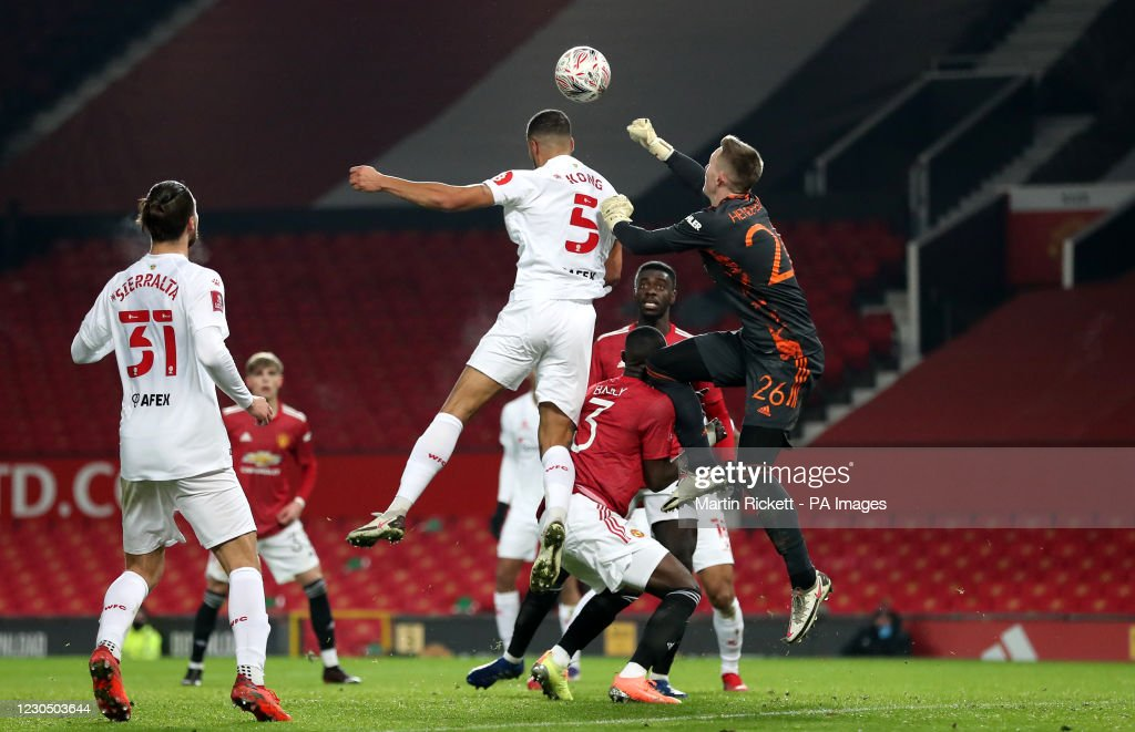 Manchester United v Watford - Emirates FA Cup - Third Round - Meadow Park : News Photo