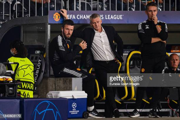 Manchester United Head Coach Ole Gunnar Solskaer during the UEFA Champions League group F match between BSC Young Boys and Manchester United at...
