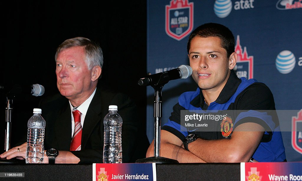 2011 MLS All-Star Game Press Conference : News Photo