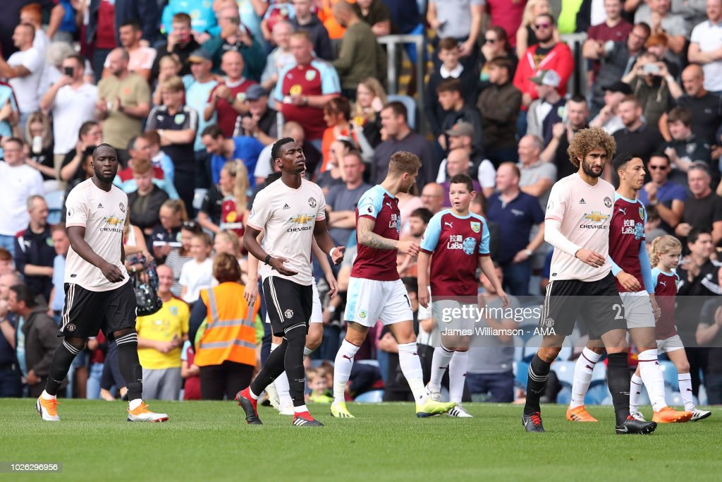Burnley FC v Manchester United - Premier League : News Photo