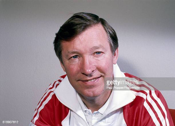 Manchester United manager Alex Ferguson, circa December 1986.