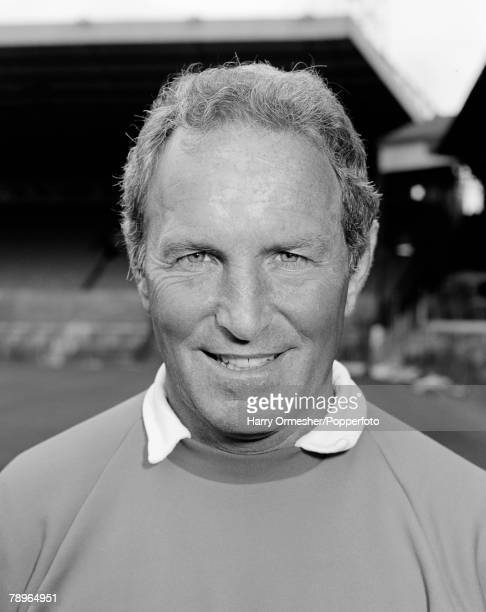 August 1978 Manchester United Photocall A portrait of Manager Dave Sexton