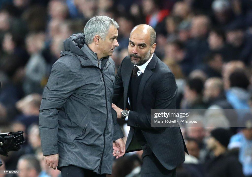 Manchester City v Manchester United - Premier League - Etihad Stadium : News Photo