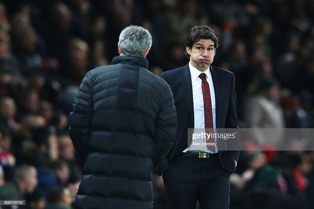 Manchester United v Middlesbrough - Premier League : News Photo