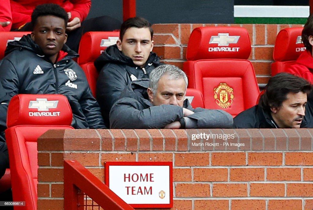 Manchester United v West Bromwich Albion - Premier League - Old Trafford : Foto jornalística