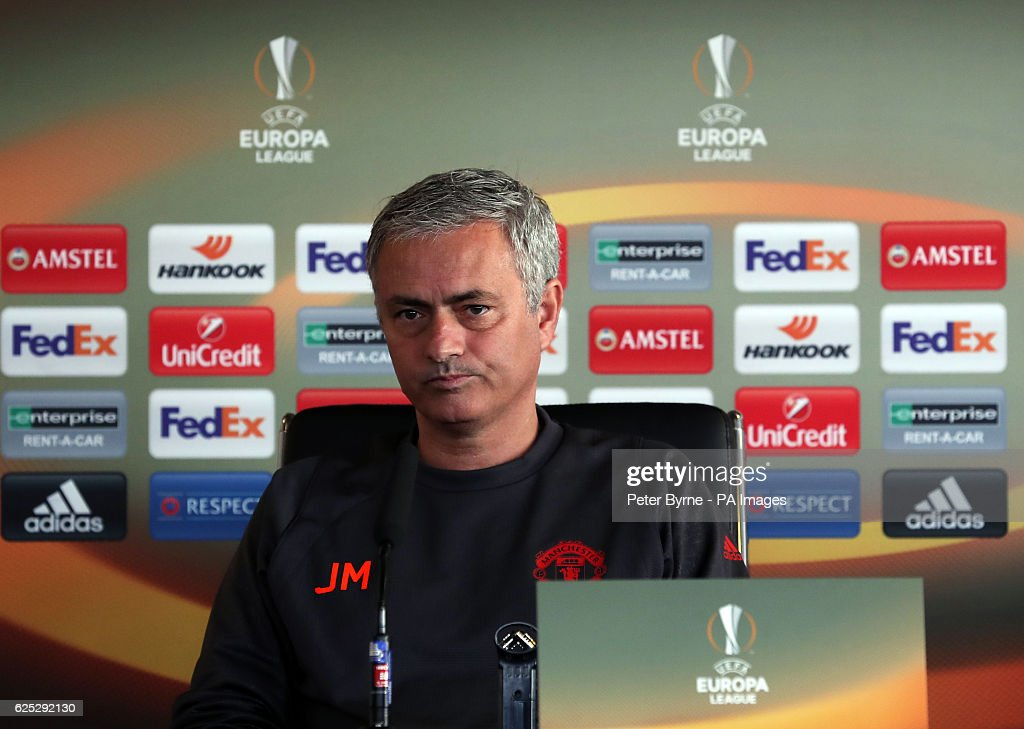 Manchester United Training and Press Conference - Aon Training Complex : News Photo