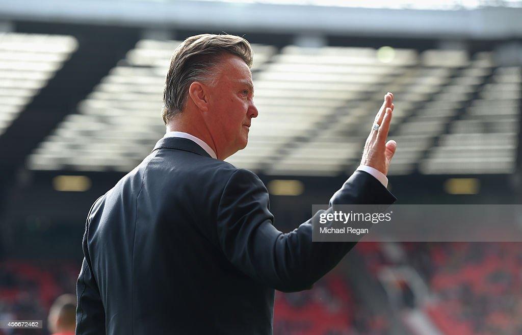 Manchester United v Everton - Premier League : Photo d'actualité