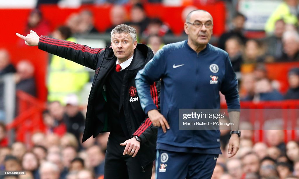 Manchester United v Chelsea - Premier League - Old Trafford : News Photo