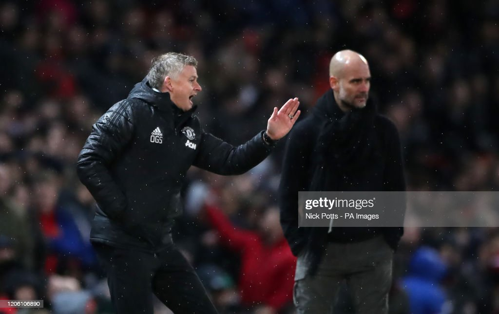 Manchester United v Manchester City - Premier League - Old Trafford : News Photo