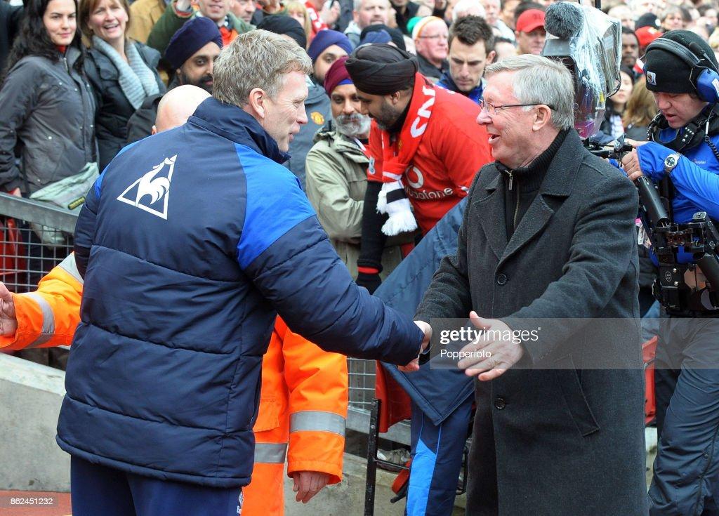Manchester United v Everton - Barclays Premier League : News Photo