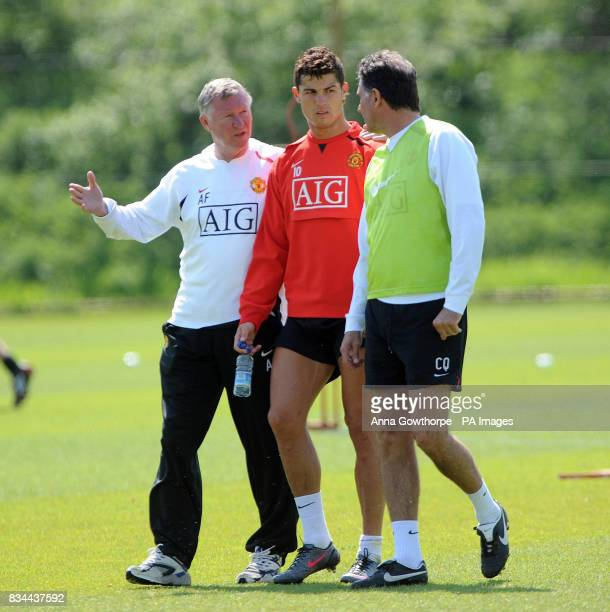 132 Manchester United Cristiano Ronaldo Ferguson Photos Photos and Premium High Res Pictures - Getty Images