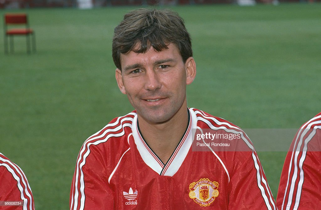 Robson At Manchester United : News Photo