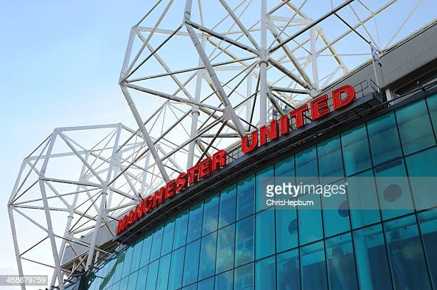 manchester united - old trafford - manchester united stadium stock pictures, royalty-free photos & images