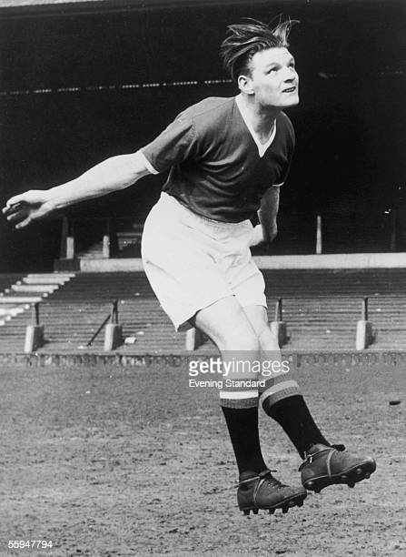 Manchester United player Eddie Colman who died in the Munich Air Disaster along with seven of his teammates circa 1957