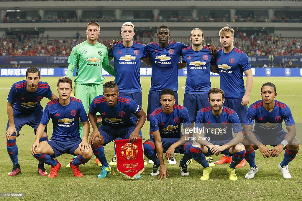 Manchester United v Borussia Dortmund - 2016 International Champions Cup China : News Photo