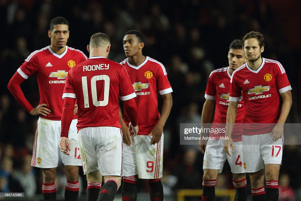 Manchester United v Middlesbrough - Capital One Cup Fourth Round : News Photo