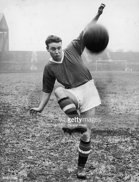 Manchester United righthalf Eddie Colman who died in the Munich Air Disaster along with seven of his teammates April 1957
