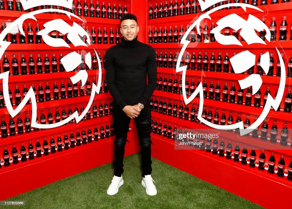 Coca-Cola & Premier League Partnership Launch : News Photo