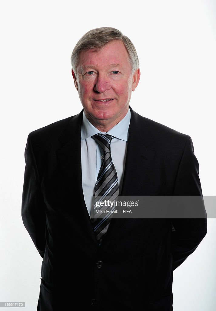 Manchester United team manager, Sir Alex Ferguson poses for a portrait prior to the FIFA Ballon d'Or Gala 2011 at the Kongresshaus on January 09, 2012 in Zurich, Switzerland.