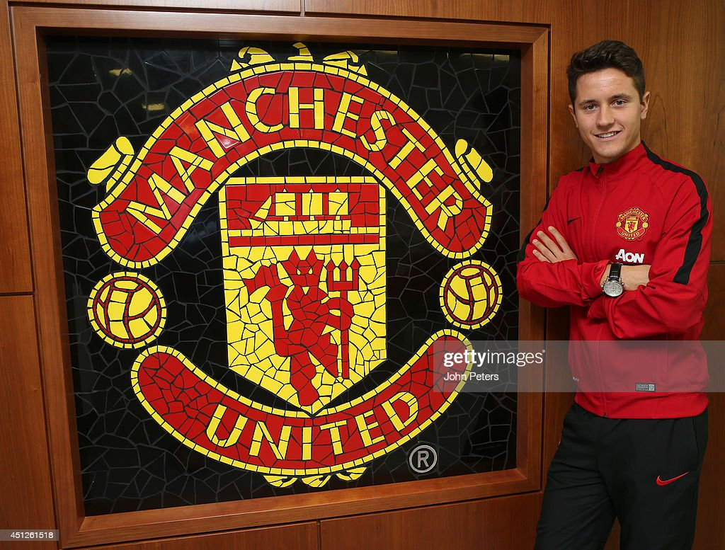 Ander Herrera Arrives At Manchester United Training Ground Ahead Of Medical : News Photo