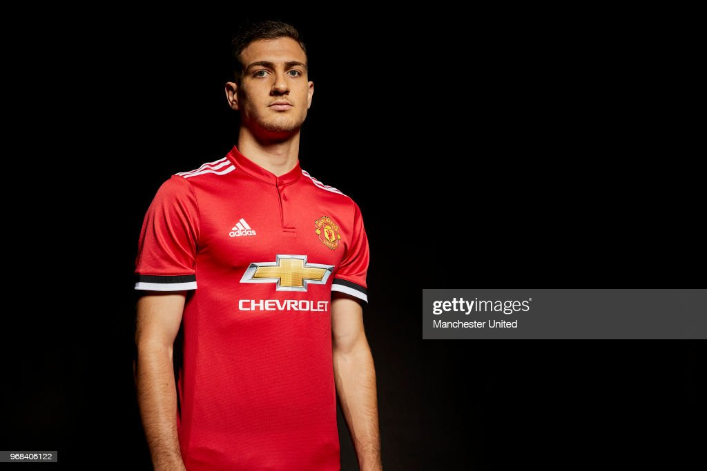 Manchester United Unveil New Signing Diogo Dalot : News Photo