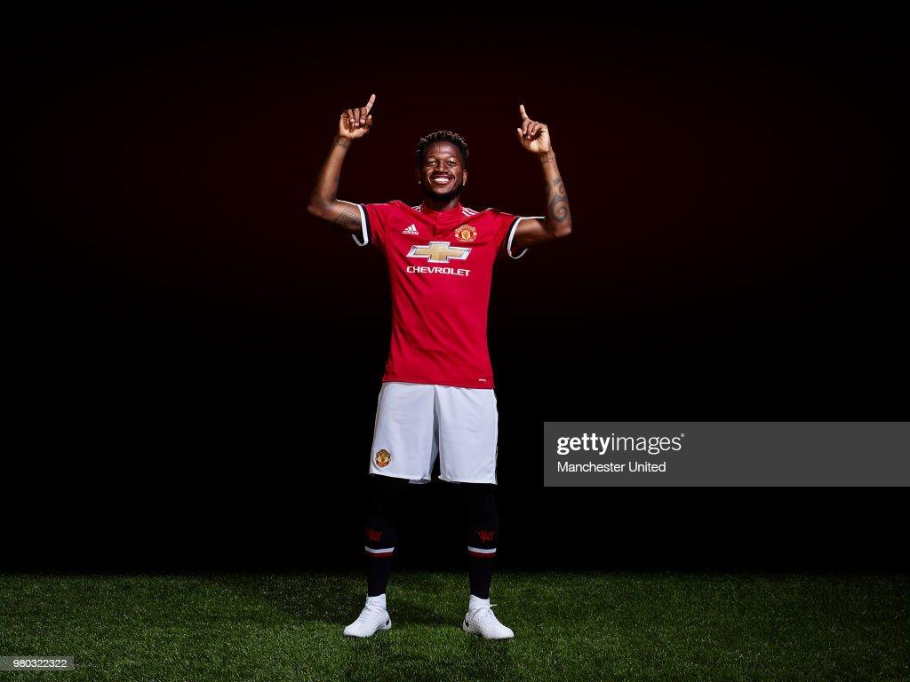 Manchester United Unveil New Signing Fred : Nachrichtenfoto