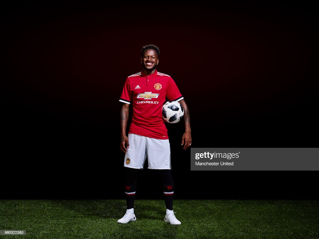 Manchester United Unveil New Signing Fred : News Photo