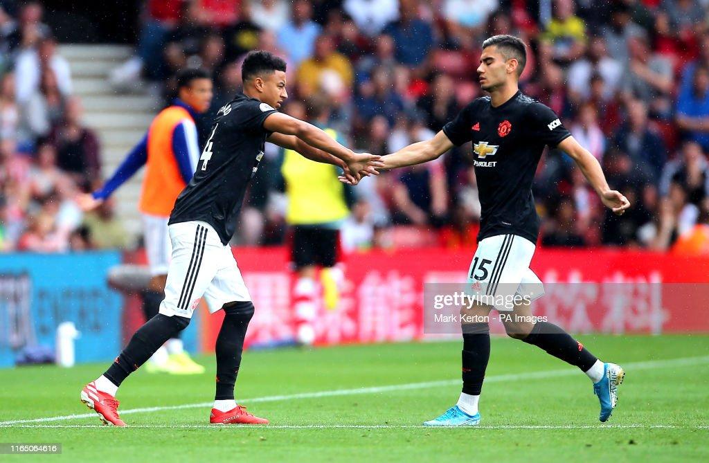 Southampton v Manchester United - Premier League - St Mary's : News Photo